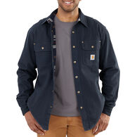 Carhartt Men's Weathered Canvas Long-Sleeve Shirt Jac