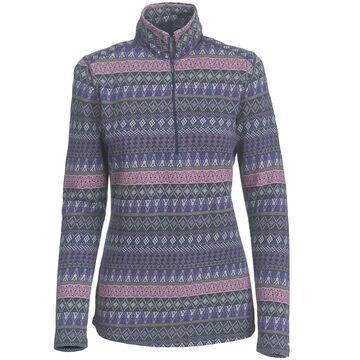 Woolrich Womens Mile Run Half Zip Long-Sleeve Shirt