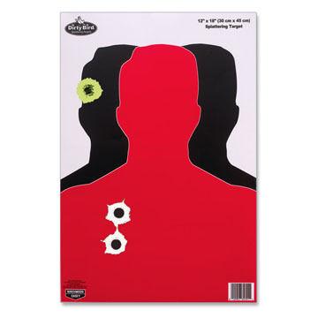 "Birchwood Casey Dirty Bird 12"" x 18"" Silhouette III Target - 8 Pk."