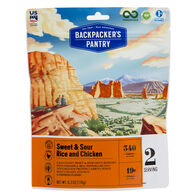 Backpacker's Pantry Sweet & Sour Rice and Chicken - 2 Servings