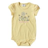 Carhartt Infant Girl's Cap Sleeve Short-Sleeve Bodyshirt