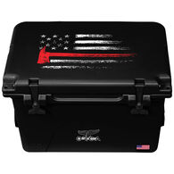 ORCA Thin Red Line 40 Quart Cooler