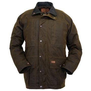 Outback Trading Mens Deerhunter Oilskin Jacket