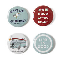 Life is Good Gullfriend Positive Pin - 4 Pk.