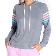 P.J. Salvage Women's Colorful Classics Overdyed Sleep Hoodie