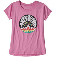 Patagonia Girl's Graphic Organic Cotton Short-Sleeve T-Shirt