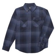 Dark Seas Men's Stowaway Flannel Long-Sleeve Shirt