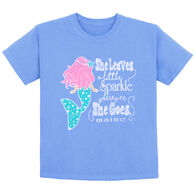Lakeshirts Toddler Mermaid Shimmer Short-Sleeve T-Shirt