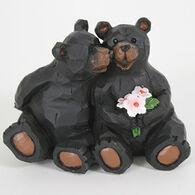 Slifka Sales Co Sitting Bear Couple Figurine