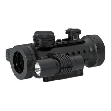 BSA Stealth Tactical Illuminated Red Dot Sight w/ Laser & Light