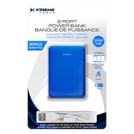 Xtreme Cables 5000 mAh Dual Port Suction Pad Power Bank
