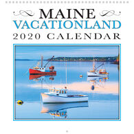 Maine Scene Maine Vacationland 2020 Wall Calendar