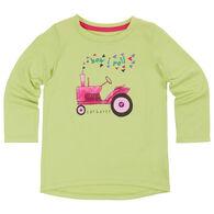 Carhartt Infant/Toddler Girls' How I Roll Long-Sleeve T-Shirt