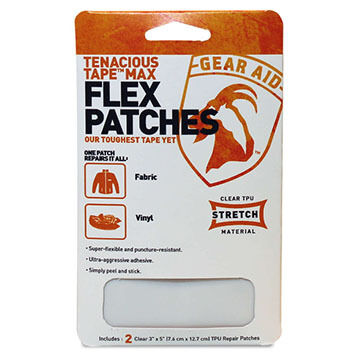 Gear Aid Tenacious Tape Max Flex Patch Kit