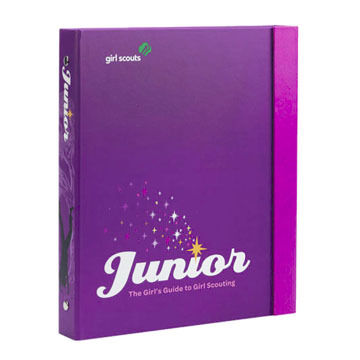 Girl Scouts Junior Girls Guide to Girl Scouting Handbook