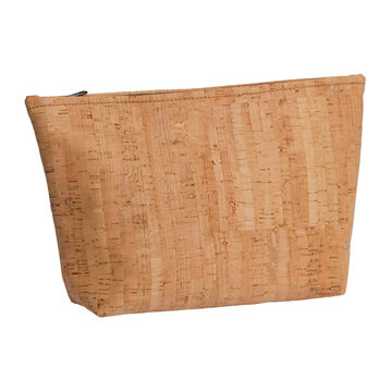 Natalie Therése Womens Be Organized Rustic Cork Pouch