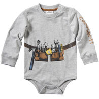 Carhartt Infant Boy's Construction Stack Long-Sleeve Bodyshirt