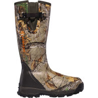 LaCrosse Men's Alphaburly Pro Zip Waterproof Insulated Hunting Boot, 1000g