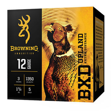 "Browning BXD Upland Extra Distance 12 GA 3"" 1-5/8 oz. #5 Shotshell Ammo (25)"
