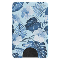 PopSockets PopWallet Blue Hibiscus Mobile Device Card Holder