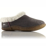Sorel Women's Nakiska Lined Suede Closed-Back Slipper