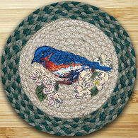 Capitol Earth Blue Bird Printed Swatch Rug