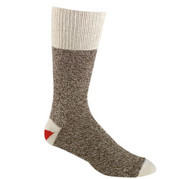 Fox River Mills Men's Red Heel Monkey Sock - 2/pk