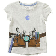 Carhartt Infant Girl's Graphic Toolbelt Short-Sleeve T-Shirt