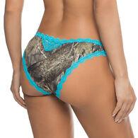 Wilderness Dreams Women's Aqua Lace Trimmed Pantie