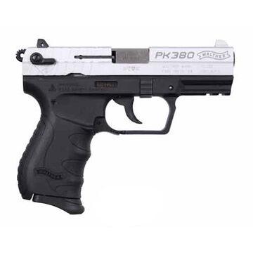 Walther PK380 Nickel 380 ACP 3.66 8-Round Pistol