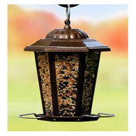 Audubon Copper Carriage Lantern Bird Feeder