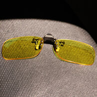Cocoons Rectangle 54 Low Vision Flip-Up Sunglasses