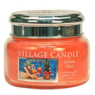 Village Candle Small Glass Jar Candle - Summer Vibes