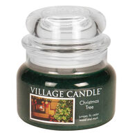 Village Candle Small Glass Jar Candle - Christmas Tree