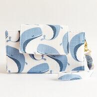 Little Man Women's Whales Print Hercules Cellphone Wallet