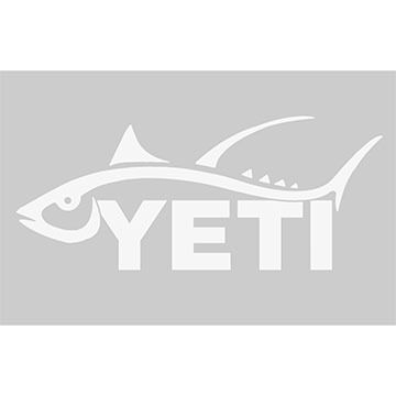 YETI Tuna Window Decal