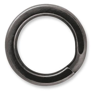 VMC BSSR Black Stainless Steel Split Ring - 6-10 Pk.