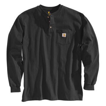 Carhartt Mens Workwear Henley Long-Sleeve Shirt