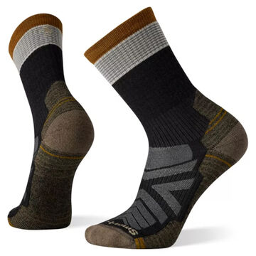 SmartWool Mens Hike Light Cushion Micro Stripe Crew Sock