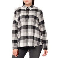 Carhartt Women's Rugged Flex Relaxed Fit Flannel Plaid Long-Sleeve Shirt - Special Purchase