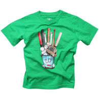 Wes And Willy Boy's Baseball Equipment Short-Sleeve T-Shirt