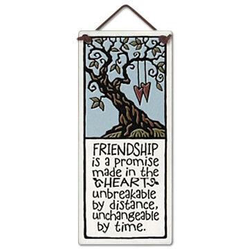 "Spooner Creek Designs ""Friendship"" Small Talls Tile"