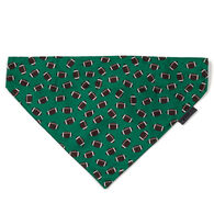 The Worthy Dog Over-The-Collar Football Dog Bandana