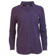 Purnell Women's Chamois Flannel Long-Sleeve Shirt