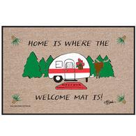 High Cotton Doormat - Home Where Welcome Mat Camper