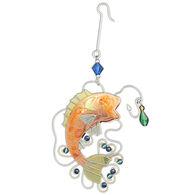 Pilgrim Imports Bass Fishing Ornament