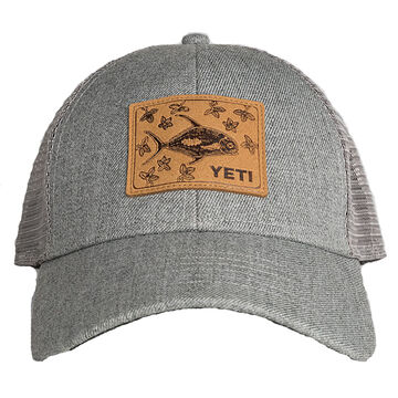 YETI Mens Permit in Mangroves Patch Trucker Cap