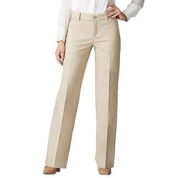 Lee Jeans Womens Flex Motion Regular Fit Trouser Pant