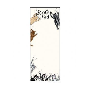 Hatley Little Blue House Scratch Pad Magnetic List Notepad