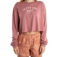 Jetty Life Women's Surf USA Long-Sleeve Shirt